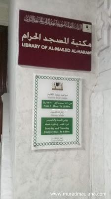 jadwal kunjungan perpustakaan masjidil haram